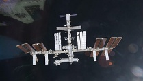 ISS,Nasa (Quelle: Picture Alliance / EPA Nasa Handout)