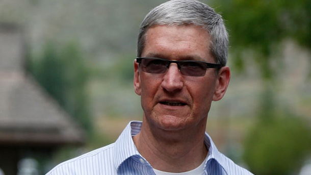 Tim Cook: 610.000 Dollar für Kaffeekränzchen mit Apple-Chef. Apple-Chef Tim Cook (Quelle: Reuters)