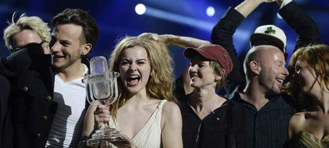 Emmelie de Forest gewinnt fr Dnemark den Eurovision Song Contest 2013. (Quelle: Reuters)