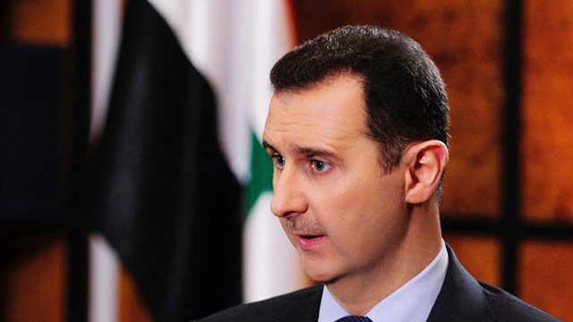 Syriens Staatsprsident Baschar al-Assad befrchtet westlichen Angriff