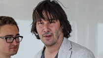 Keanu Reeves in Cannes. (Quelle: WENN)