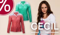 Frische Farben und abwechslungsreiche Styles - bei CECIL.de