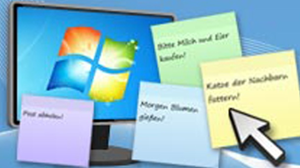 minianwendungen windows 7 notizen