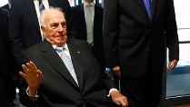 Helmut Kohl beim Festakt in Hof (Quelle: Reuters)