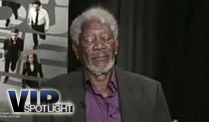 Morgan Freeman schläft bei TV-Interview ein (Screenshot: BitProjects)