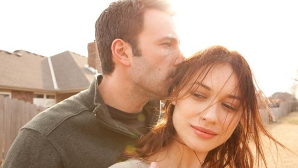 Ben affleck und olga kurylenko in terrence malicks to the wonder