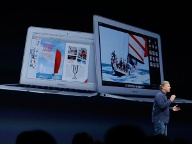 Apple präsentierte neue MacBook Air (Quelle: AP Photo/Eric Risberg)