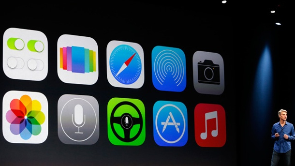 Apple iOS 7: Die Features bekommen iPhone und iPad. Apple-System iOS 7 (Quelle: Reuters/Stephen Lam)