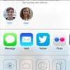 AirDrop in iOS 7 (Quelle: Apple)