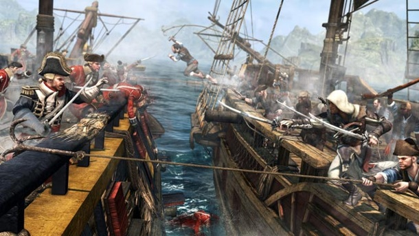 """Assassin's Creed 4"" und ""Batman: Arkham Origins"" für Konsolen erschienen. Assassin's Creed 4: Black Flag (Quelle: Ubisoft)"