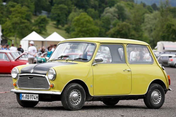BMC Mini MK III von Mr. Bean (Quelle: Hersteller/Press Inform)