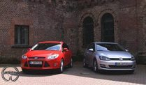 Car-Check: VW Golf 7 vs. Ford Focus 3 (Screenshot: Car News)