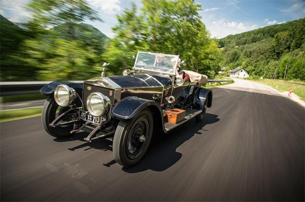 Rolls-Royce Silver Ghost auf Alpenfahrt (Quelle: Press Inform)