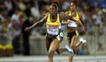 "IAAF zu Doping-Fall Campbell-Brown: ""Kleiner Verstoß"". Veronica Campbell-Brown in Aktion."
