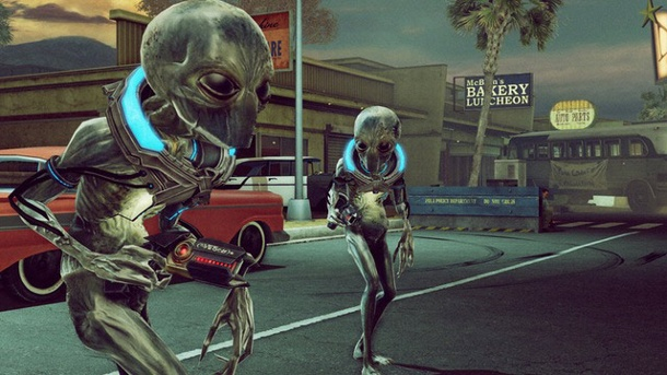 """The Bureau: Xcom Declassified"": 2K Games bläst Aliens den Marsch. The Bureau: Xcom Declassified Taktik-Shooter von 2K Games für PC, PS3 und Xbox 360 (Quelle: 2K Games)"