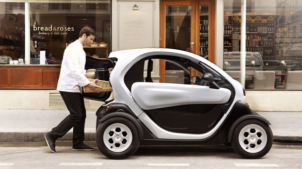renault twizy cargo elektroauto f r den lieferverkehr. Black Bedroom Furniture Sets. Home Design Ideas