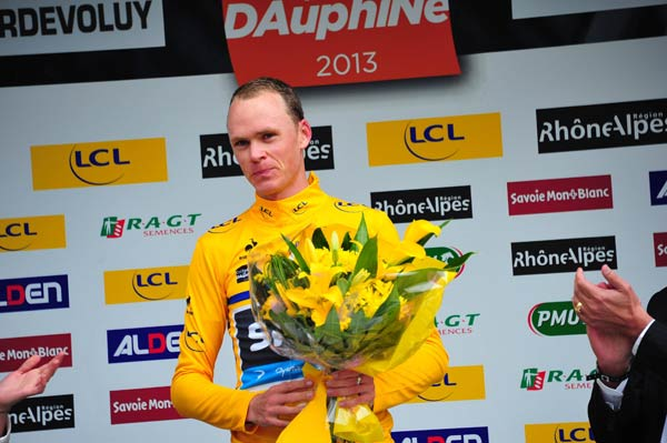 Favorit: Christopher Froome. (Quelle: imago/Sirotti)