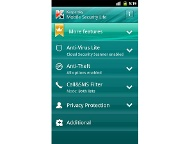 Kaspersky Mobile Security Lite (Quelle: Hersteller)