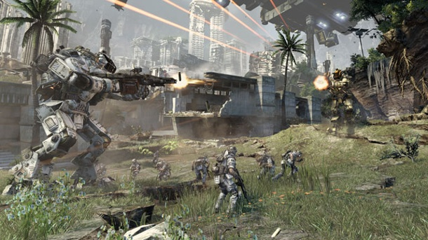 Titanfall: Entwickler Respawn Entertainment kündigt Juni-Update an. Titanfall Ego-Shooter von Electronic Arts für PC, Xbox 360 und Xbox One (Quelle: Electronic Arts)