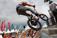 Beetle Kitesurf World Cup: spannende Side-Events wie Skate und BMX-Shows. (Quelle: HOCH ZWEI / Philipp Szyza)