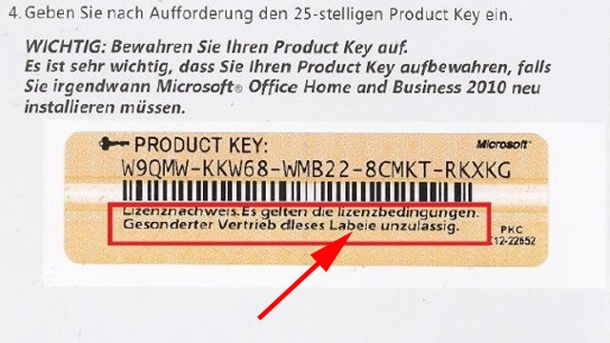 buy office 2010 product key