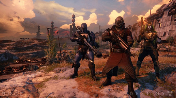 Destiny: Bungie will Fan-Feedback in DLCs nutzen . Destiny (Quelle: Activision)