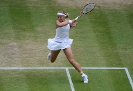 Sabine Lisicki in Aktion (Quelle: imago/Colorsport)