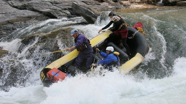 Rafting auf dem Chattooga River. Rafting auf dem Chattooga River. (Quelle: Richard Conely)