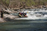 Rafting auf dem Chattooga, USA. (Quelle: Richard Conely)
