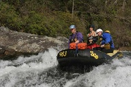 Rafting-Tour mit Guide Geoff Doolittle. (Quelle: Richard Conely)
