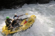 Rafting-Tour: Chattooga River, USA. (Quelle: Richard Conely)