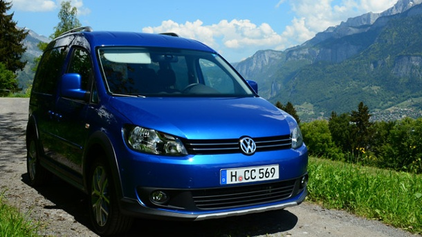 VW Cross Caddy Autotest: Der hat was auf dem Kasten. VW Cross Caddy (Quelle: t-online.de)