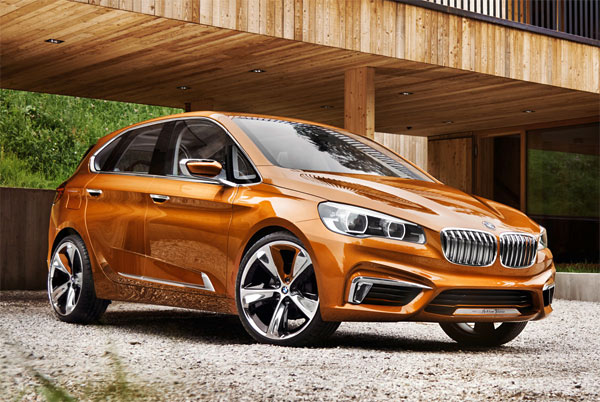 BMW Concept Active Tourer Outdoor (Quelle: Hersteller)