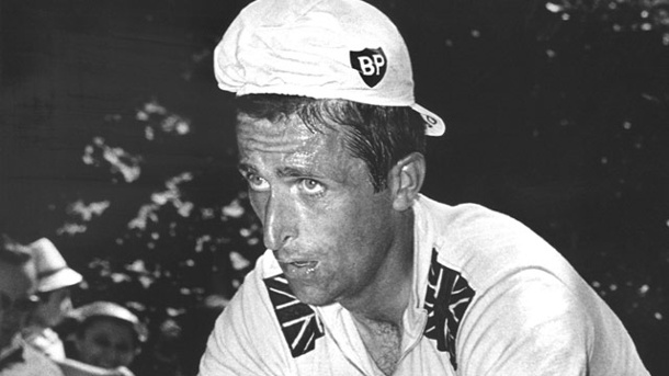 Tour de France: Als Tom Simpson am Mont Ventoux verstarb. Tom Simpson während der Tour de France 1967. (Quelle: dpa)
