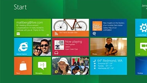 Windows 8: Microsoft will den Kopierschutz in Windows 8 verschärfen. Metro-Oberfläche von Windows 8 (Quelle: blogs.msdn.com)