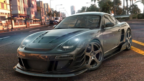 "PS4: ""The Crew""-Portierung vom PC zur Playstation 4 in nur Monaten. The Crew Online-Action-Rennspiel von Ubisoft Reflections für PC, PS4 und Xbox One (Quelle: Ubisoft Reflections)"