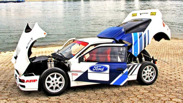 Ford RS200: Das teuerste Serienauto von Ford. Ford RS200: Tragischer Rallye-Held (Quelle: Press Inform)