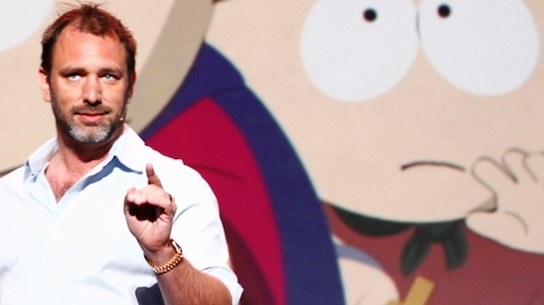 "Interview mit South Park-Mastermind Trey Parker: Wenn Pups-Raketen aufklärend wirken. Interview mit Trey Parker über ""South Park"" (Quelle: Medienagentur plassma)"