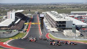 Der Circuit of the Americas in Austin, Texas.