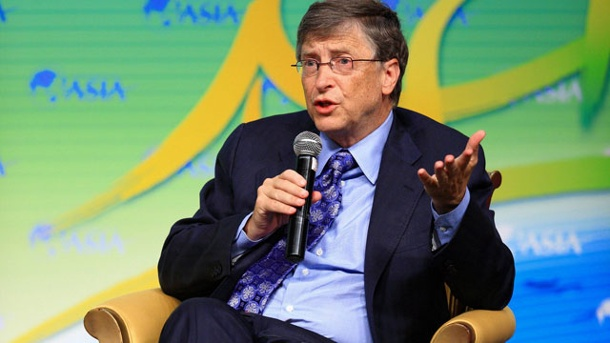 Bill Gates meldet Patent an: Software soll Text in Videos verwandeln. Bill Gates (Quelle: imago/Xinhua)