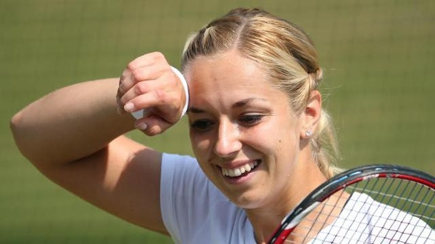Wimbledon-Finalistin Lisicki in New Haven weiter. Sabine Lisicki machte auch in New Haven eine gute Figur.