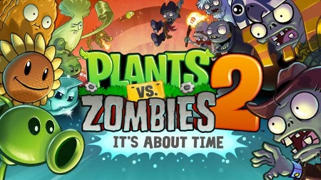 Plants vs. Zombies 2: It's about time Tower Defense-Spiel für iOS von Popcap (Quelle: Electronic Arts)