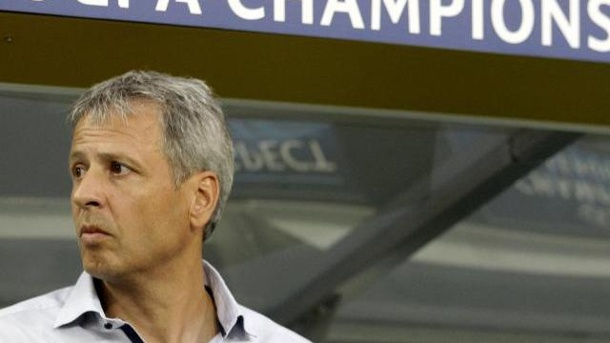 Champions League: Fünf Bundesliga-Clubs schieden in Qualifikation aus. Gladbachs Trainer Lucien Favre und sein Team konnten sich 2012/13 nicht für die Champions League qualifizieren.