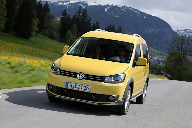 VW Caddy Cross Tramper (Quelle: Hersteller)