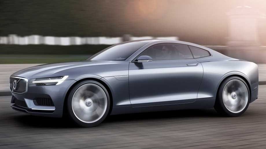 Volvo Concept Coupé: Hybrid-Sportler im Designer-Dress (Quelle: Hersteller)