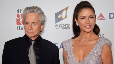Michael Douglas und Catherine Zeta-Jones (Quelle: Imago/Unimedia Images)
