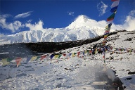 Base-Camp am Manaslu im Himalaya. (Quelle: Andreas Friedrich )