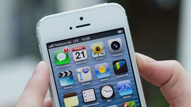 Live-Ticker: Apple stellt neues iPhone 5S vor. iPhone 5 (Quelle: Deutsche Telekom AG)