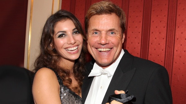Dieter Bohlen with beautiful, sexy, Girlfriend Carina Walz