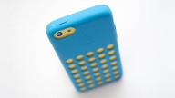 iPhone 5c Case in Blau (Quelle: dpa)